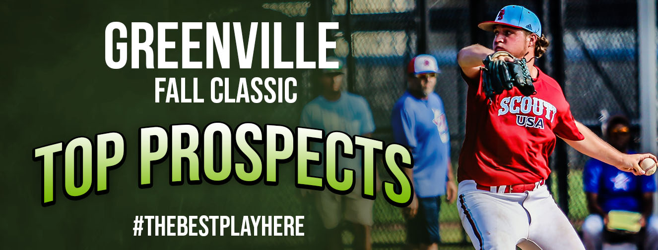 <p>2020 Greenville Fall Classic Top Prospects</p>